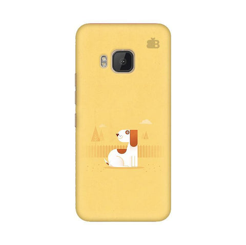 Calm Dog HTC One M9 Phone Cover