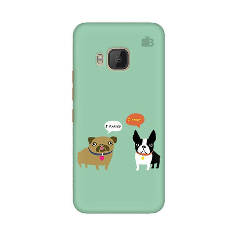 Cute Dog Buddies HTC One M9 Phone Cover