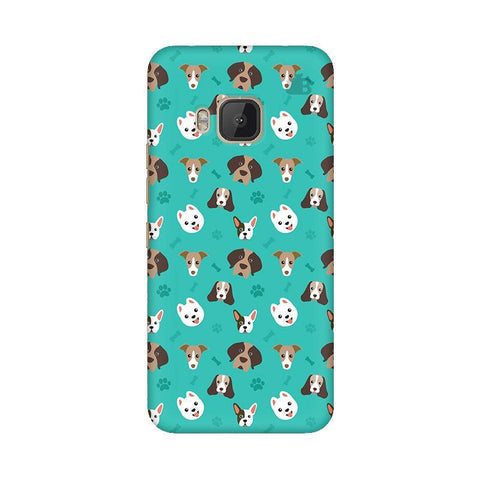 Doggie Pattern HTC One M9 Phone Cover