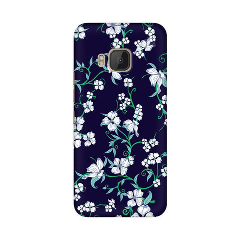 Dogwood Floral Pattern HTC One M9 Phone Cover