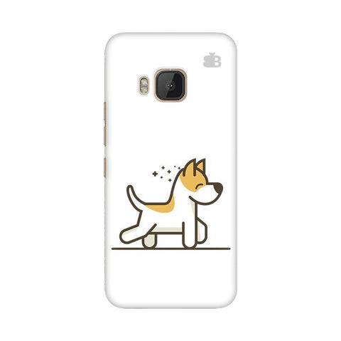 Happy Puppy HTC One M9 Phone Cover