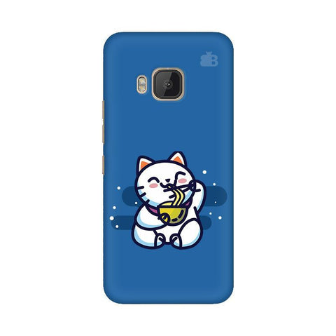 KItty eating Noodles HTC One M9 Phone Cover