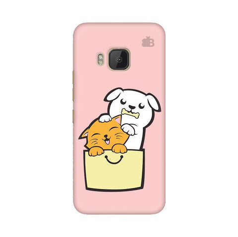Kitty Puppy Buddies HTC One M9 Phone Cover