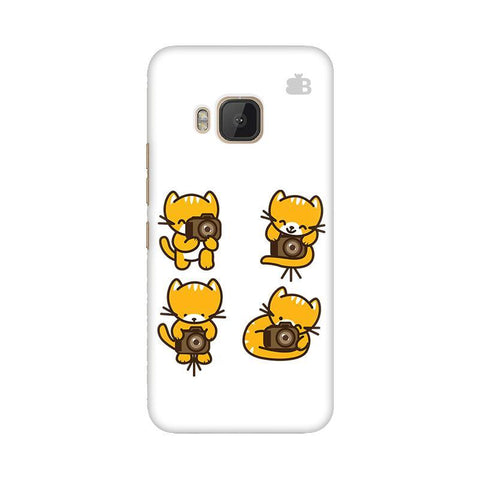 Photographer Kitty HTC One M9 Phone Cover