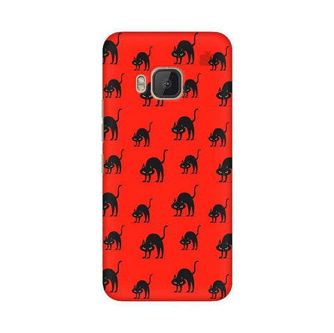 Scary Cats HTC One M9 Phone Cover