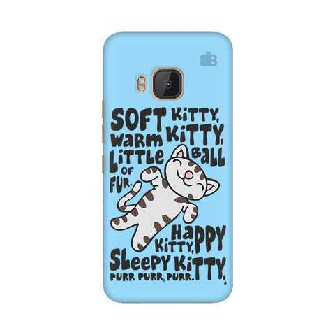 Soft Kitty HTC One M9 Phone Cover