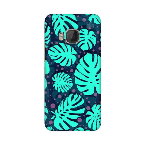Tropical Leaves Pattern HTC One M9 Phone Cover