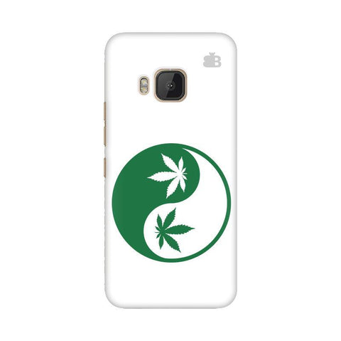 Weed Yin Yang HTC One M9 Phone Cover