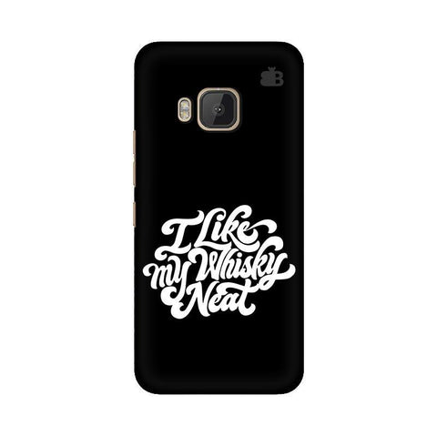 Whiskey Neat HTC One M9 Phone Cover
