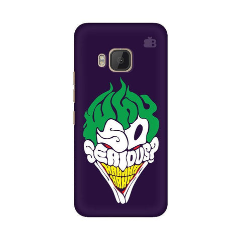 Why So Serious HTC One M9 Phone Cover