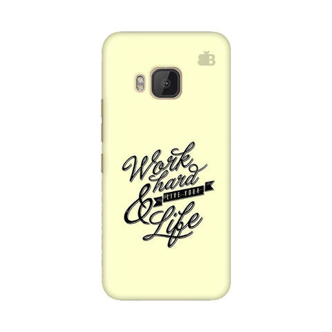 Work Hard HTC One M9 Phone Cover