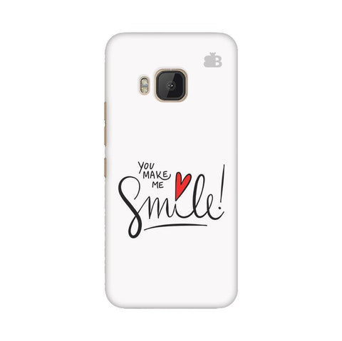 You make me Smile HTC One M9 Phone Cover