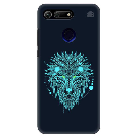 Abstract Art Lion Huawei Honor View 20 Cover