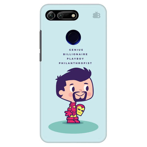 Clever Superhero Huawei Honor View 20 Cover