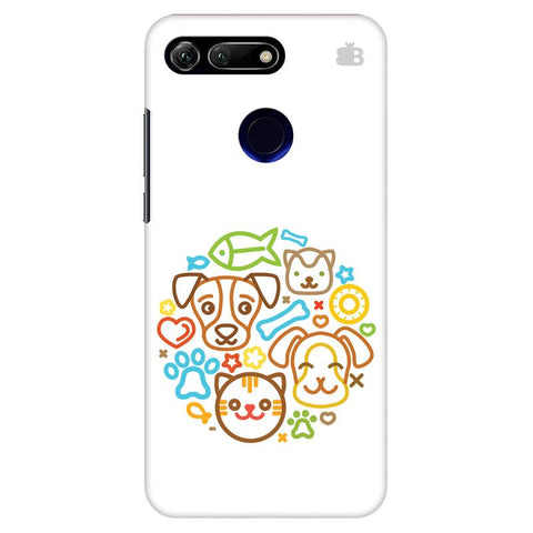 Cute Pets Huawei Honor View 20 Cover