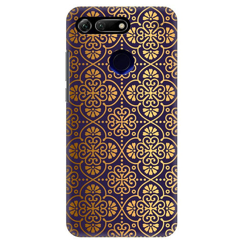 Gold Ornament Huawei Honor View 20 Cover
