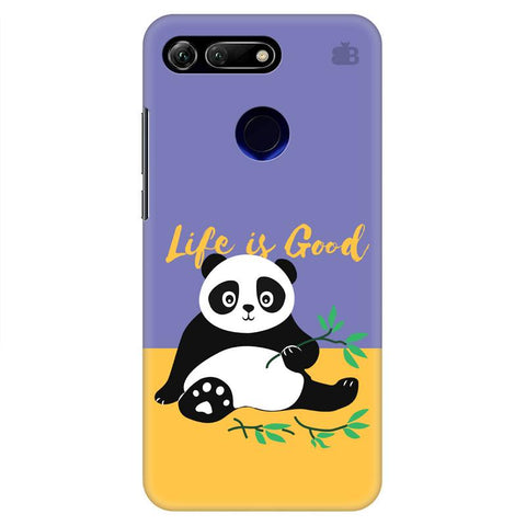 Panda Life is Good Huawei Honor View 20 Cover