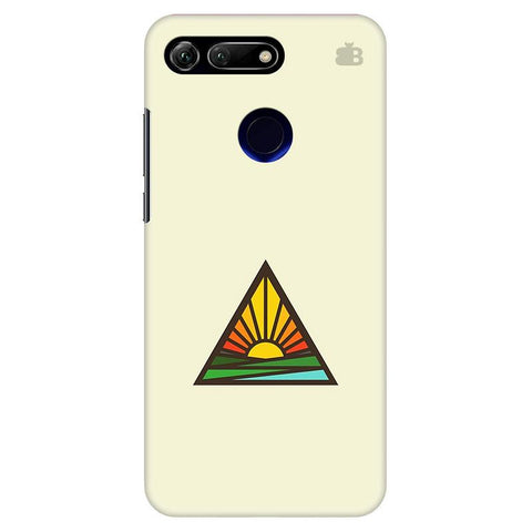 Triangular Sun Huawei Honor View 20 Cover