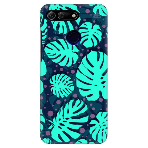 Tropical Leaves Pattern Huawei Honor View 20 Cover