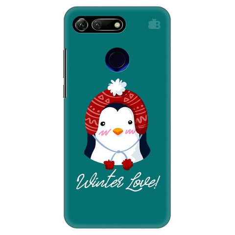 Winter Love Huawei Honor View 20 Cover