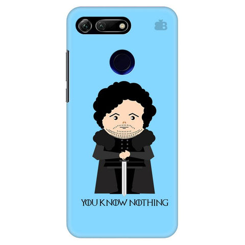 You Know Nothing Huawei Honor View 20 Cover
