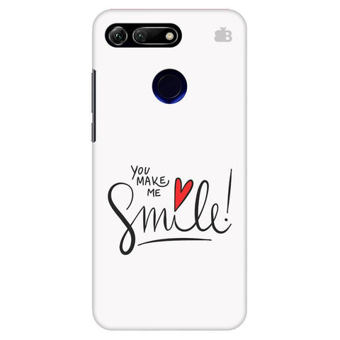 You make me Smile Huawei Honor View 20 Cover