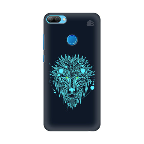 Abstract Art Lion Honor 9N Cover