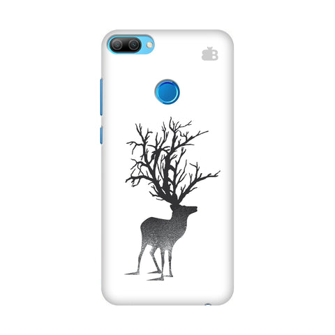 Abstract Deer Honor 9N Cover