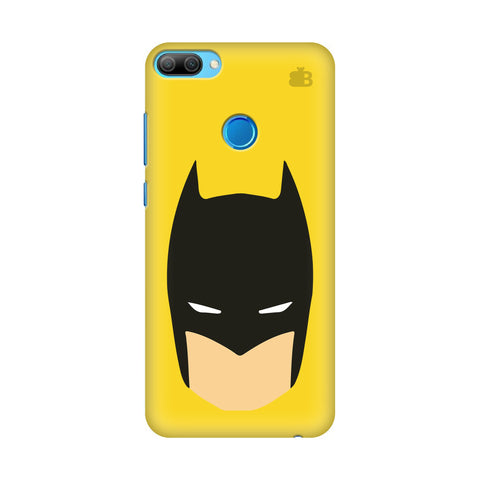 Angry Masked Superhero Honor 9N Cover