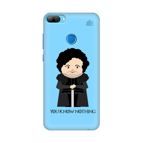 You Know Nothing Honor 9N Cover