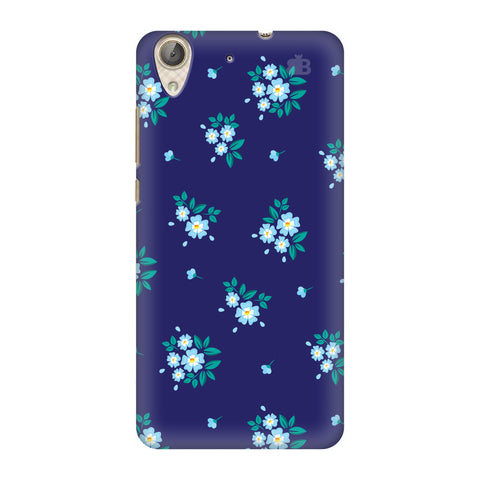 Blue Floral Pattern Honor Holly 3 Cover