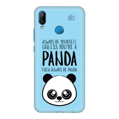 Always be panda Honor P20 Lite Cover