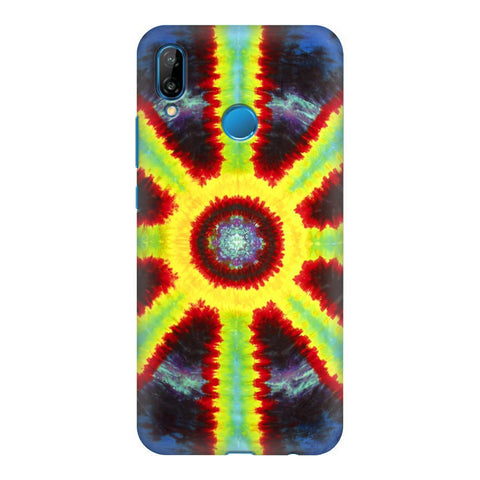 Tie & Die Pattern Honor P20 Lite Cover