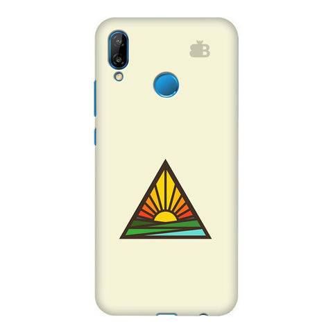Triangular Sun Honor P20 Lite Cover