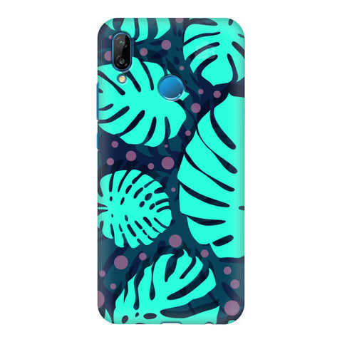 Tropical Leaves Pattern Honor P20 Lite Cover