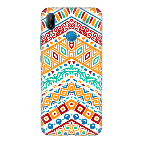 Wavy Ethnic Art Honor P20 Lite Cover