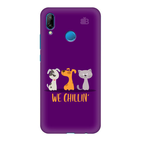 We Chillin Honor P20 Lite Cover