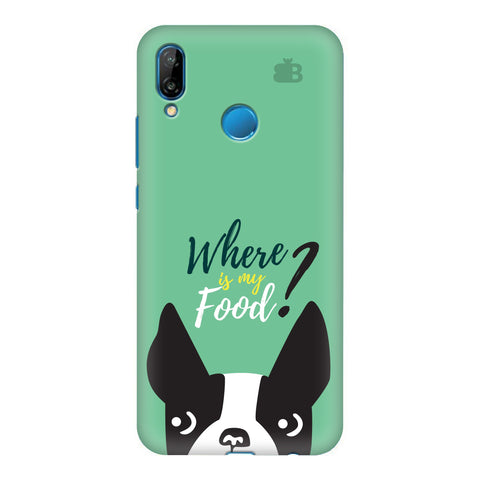 Where is my Food Honor P20 Lite Cover