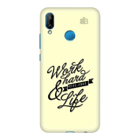 Work Hard Honor P20 Lite Cover