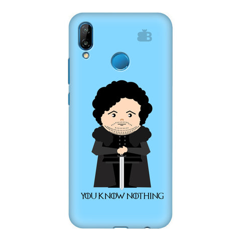 You Know Nothing Honor P20 Lite Cover