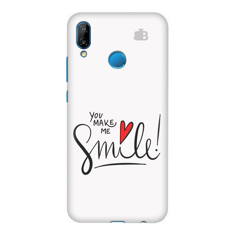 You make me Smile Honor P20 Lite Cover