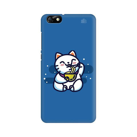 KItty eating Noodles Huawei Honor 4X Phone Cover