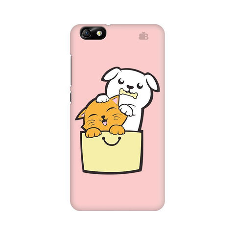 Kitty Puppy Buddies Huawei Honor 4X Phone Cover
