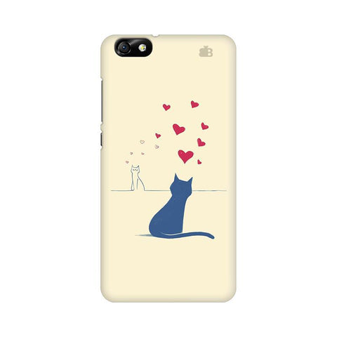 Kitty in Love Huawei Honor 4X Phone Cover
