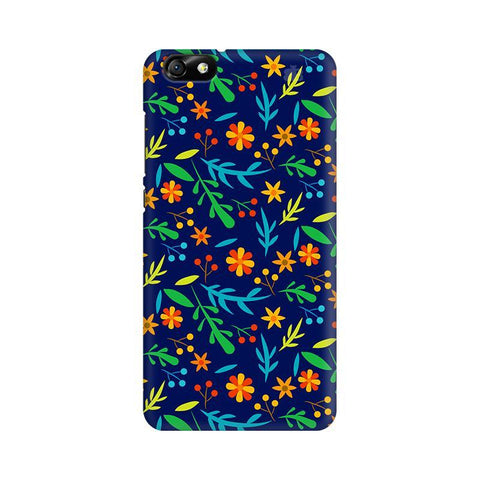 Vibrant Floral Pattern Huawei Honor 4X Phone Cover
