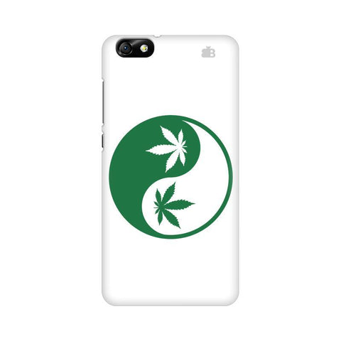 Weed Yin Yang Huawei Honor 4X Phone Cover
