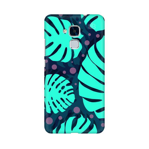 Tropical Leaves Pattern Huawei Honor 5C Phone Cover