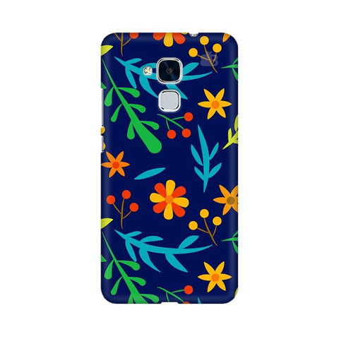 Vibrant Floral Pattern Huawei Honor 5C Phone Cover