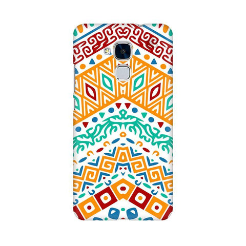 Wavy Ethnic Art Huawei Honor 5C Phone Cover