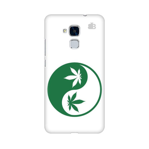 Weed Yin Yang Huawei Honor 5C Phone Cover
